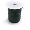 Cotton Wax Cord 3mm Flat Black